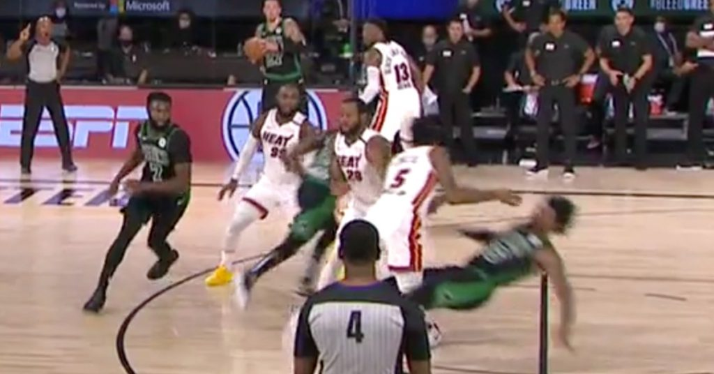 The flop that connects Marcus Smart games was a genius in the Heat Celtics game1