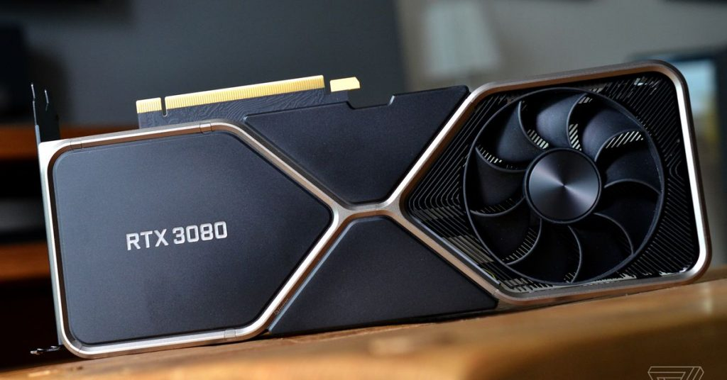 Thousands of Nvidia RTX 3080 cards are sold on eBay and people are angry