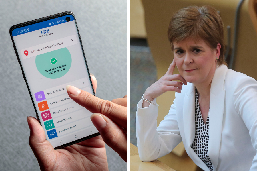 Uniolist deceives Holyrood by downloading England's Covid-19 tracing app
