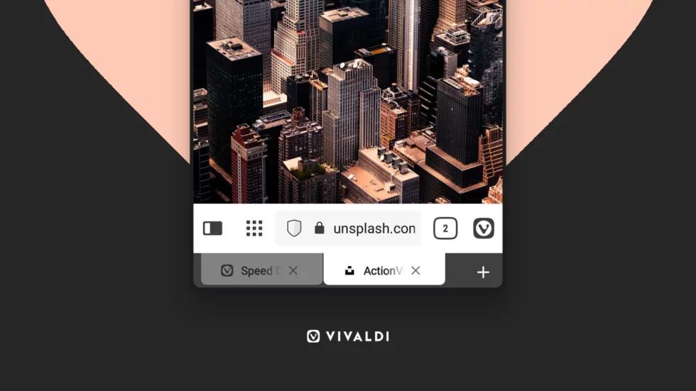 Vivaldi Browser gets an optional bottom tab bar on Android (APK download)