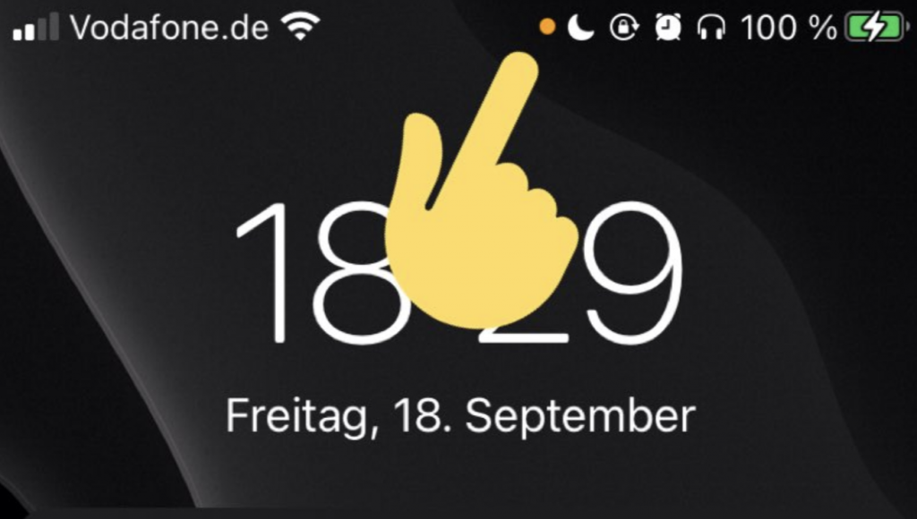 What are the orange dots on the iPhone?The meaning behind the new iOS 14 green and orange lights at the top of the screen