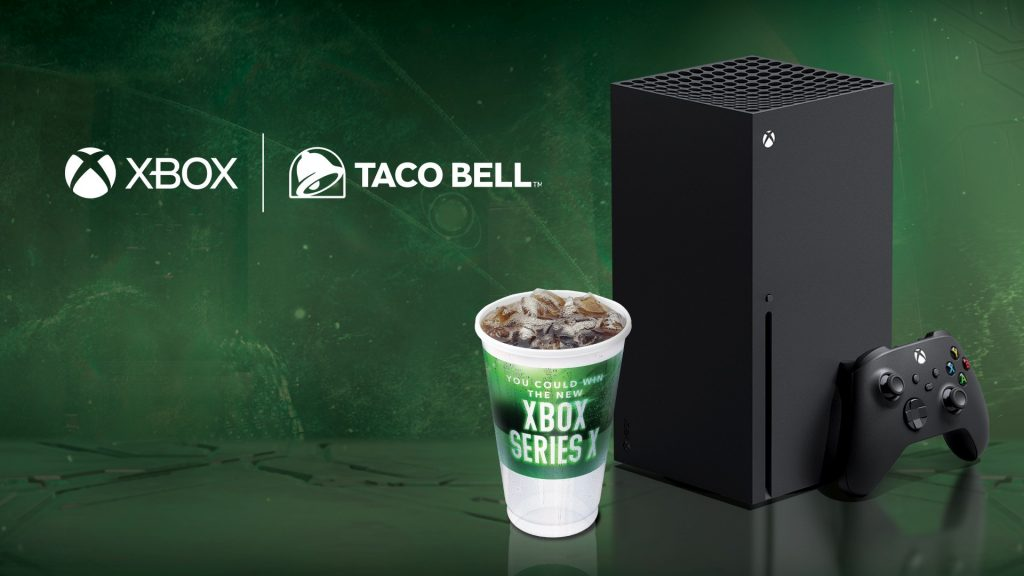 Xbox and Taco Bell offer fans the opportunity to win Xbox Series X before they buy