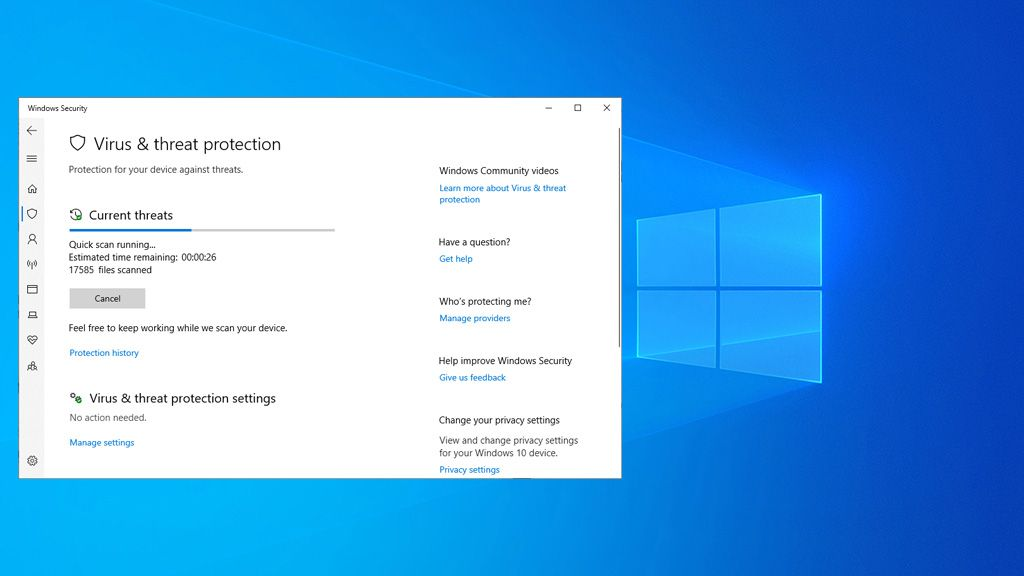You can now download viruses using Windows 10's built-in antivirus