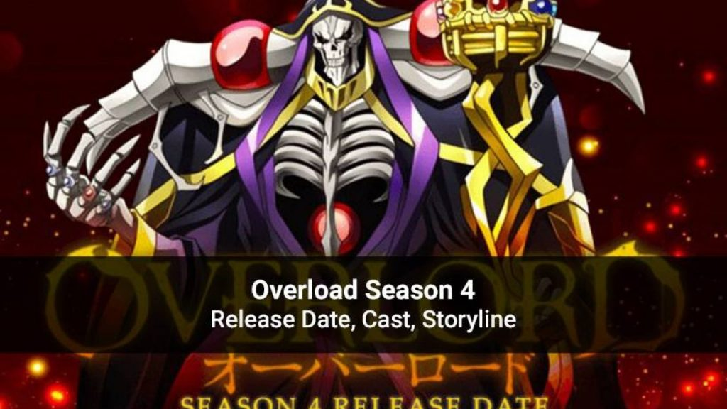 Overlord Season 4: Release date, plots and other details.