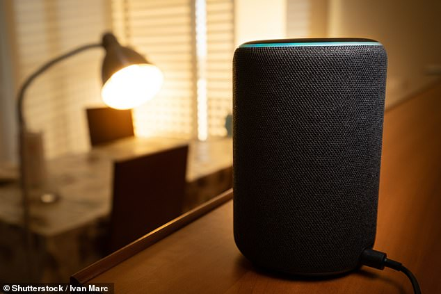 The Magistrates' Court in Westminster heard that a new girlfriend suddenly wept and fled Lincolnshire real estate after Alexa (a photo file image) was hacked last Monday.