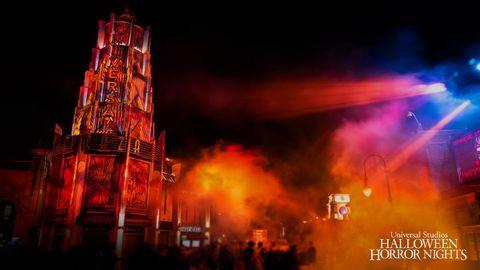 Universal Studios Halloween Horror Nights Zoom Backgrounds