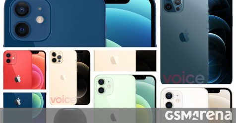 Images of all Apple iPhone 12 models leak and all colors are displayed