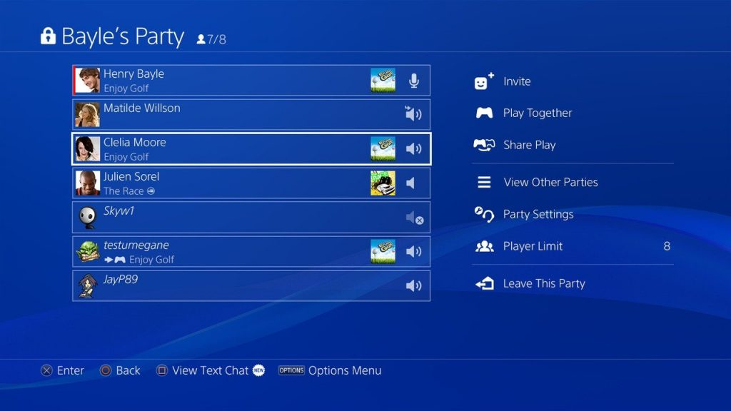 """Sony: """"We don't record"""" PS4 party chat"""