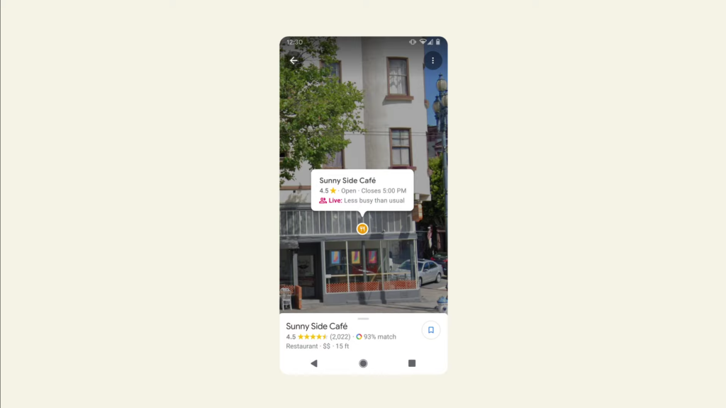 Google Maps preparing to realize the possibilities of AR in live view