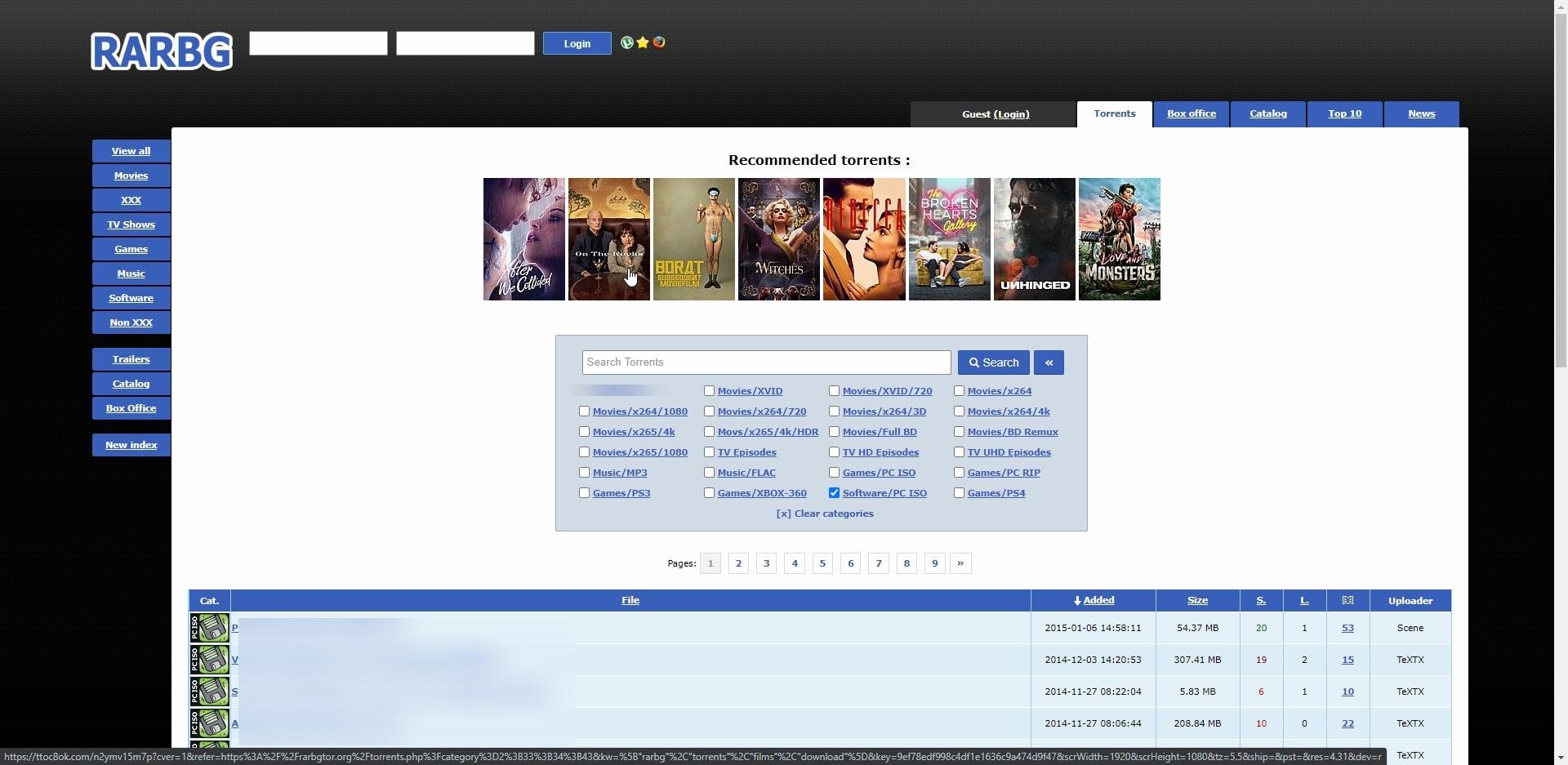 RARBG Software Torrent2020 Website