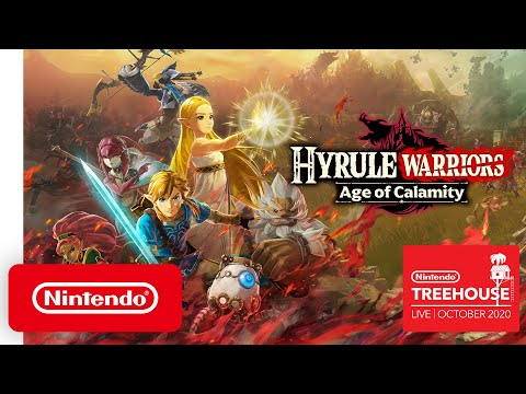 Hyrule Warriors: The Age of Disaster-Nintendo Tree House: Live | October 2020