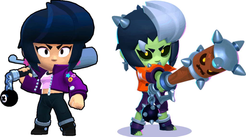 All the differences between Bibi and Zombibi - Brawl Stars