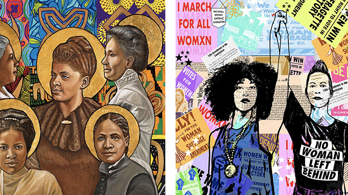 Download this art to celebrate the 100th anniversary of women's suffrage – NBC Los Angeles