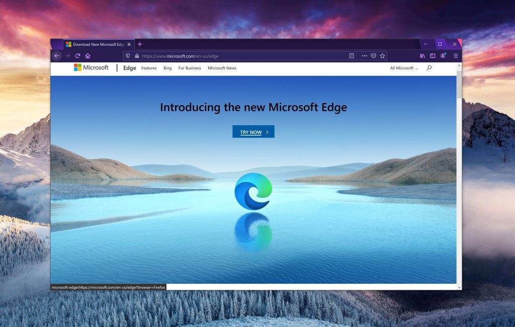 Downloading Microsoft Edge in Chrome or Firefox is now quite a challenge
