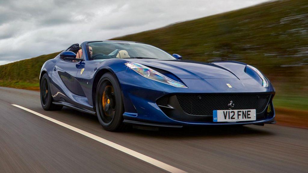 Ferrari 812 GTS Review | Top Gear