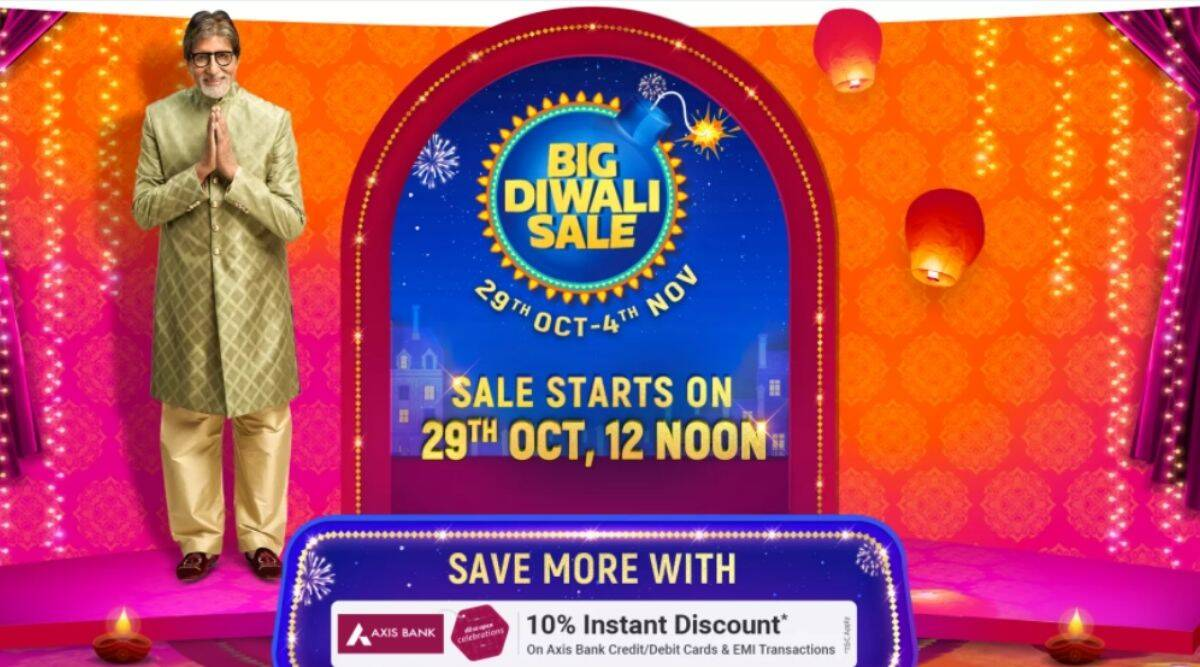 Flipkart Big Diwali Sale starts October 29th: These are the best deals and discounts