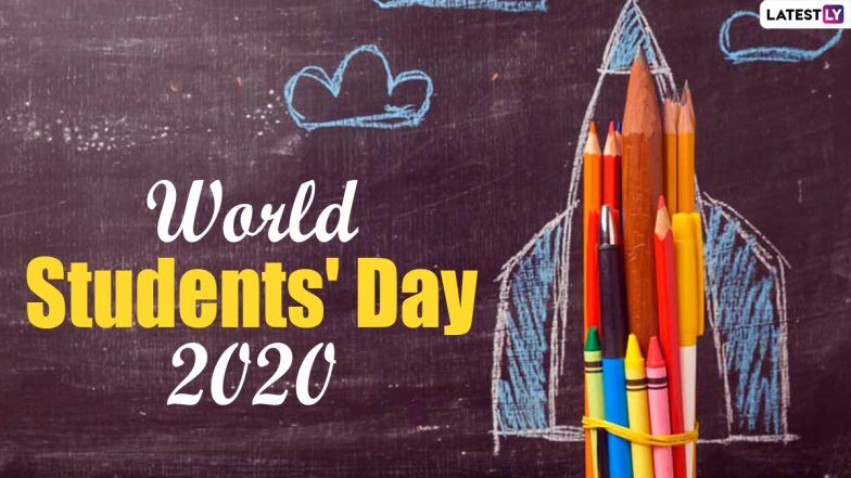 Free Download Happy Student's Day 2020 Images and HD Wallpapers Online: Wish Vishwa Vidyarthi Divas with WhatsApp Message and GIF Greeting