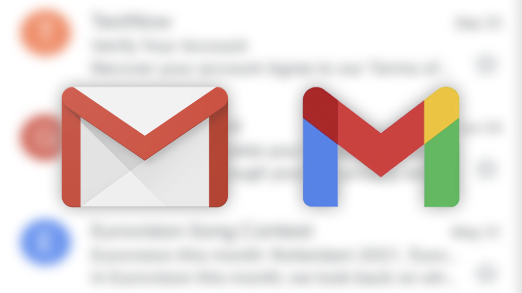 Get new multicolored Gmail icons with this update (APK download)