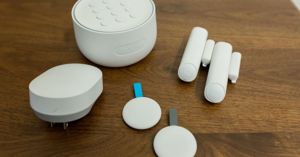 Google has discontinued the Google Nest Secure alarm system