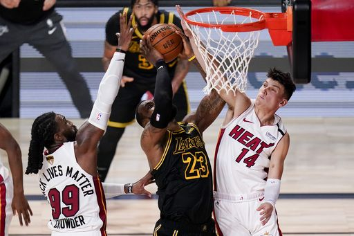 Heat Force Game 6, Top Lakers Stop Elimination