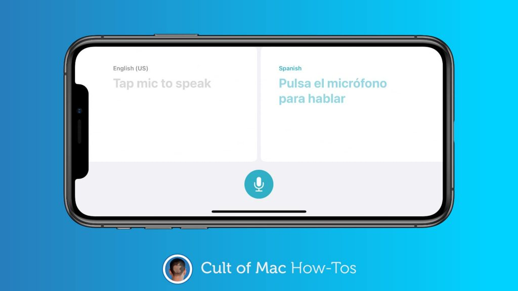 How to download languages ​​for offline use of iOS 14's new translation app