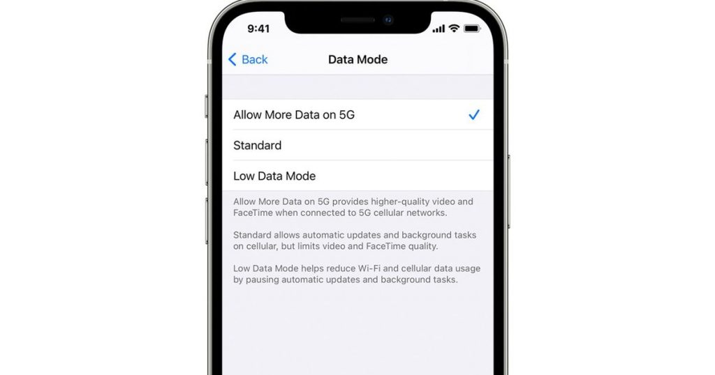 iPhone 12 owners can now download iOS updates via 5G by turning on this option.