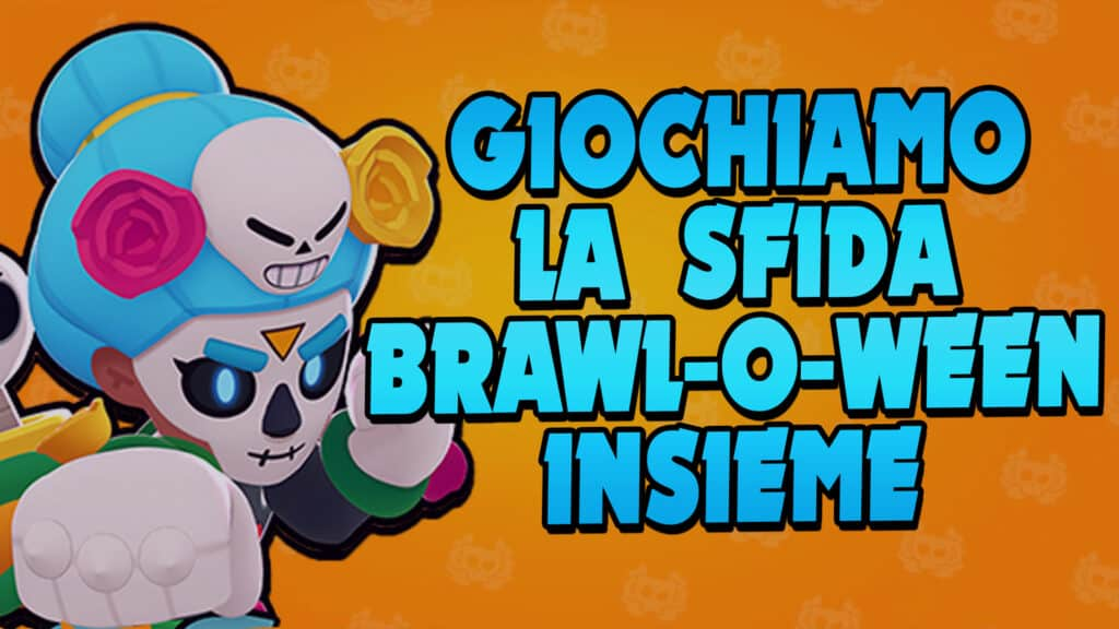 Let's play the BRAWL-O-WEEN challenge together? I'll explain how to do it - Brawl Stars