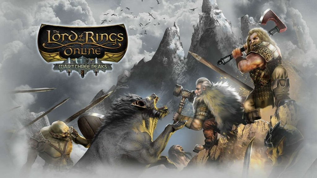 Lord of the Rings Online Releases War of Expansion of Three Peaks