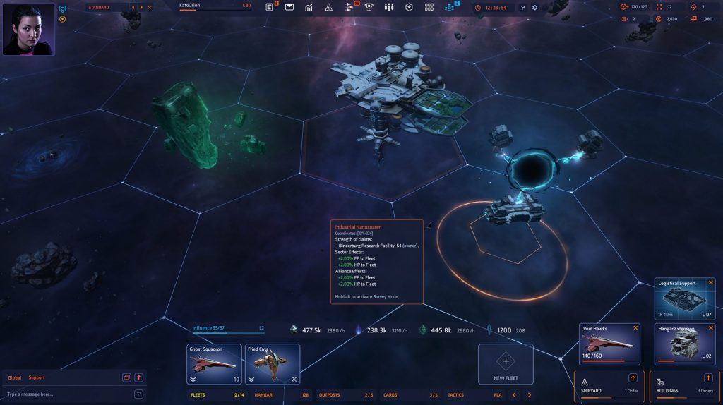 MMO Starborn Releases Dissident Update