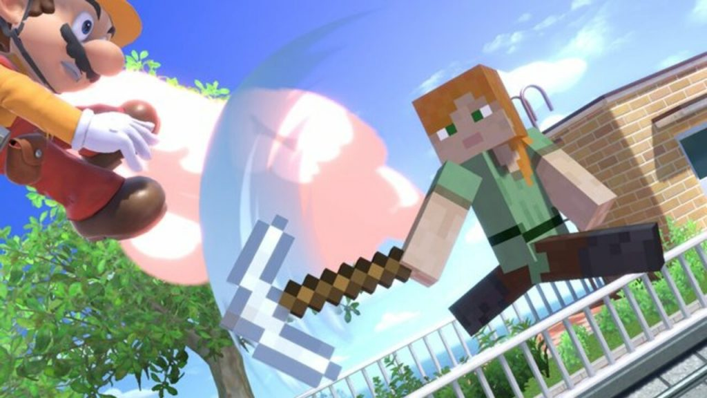 """Mojang: Destroying Minecraft is the result of a """"great collaboration"""" with Nintendo"""