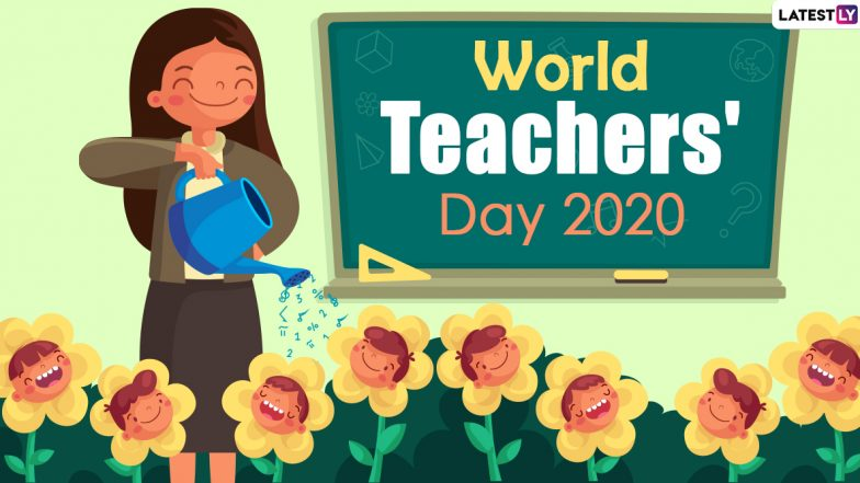 Free Download Happy World Teachers'Day 2020 HD Images and Wallpapers Online: WhatsApp Stickers, GIF Photos, Mentoring Messages
