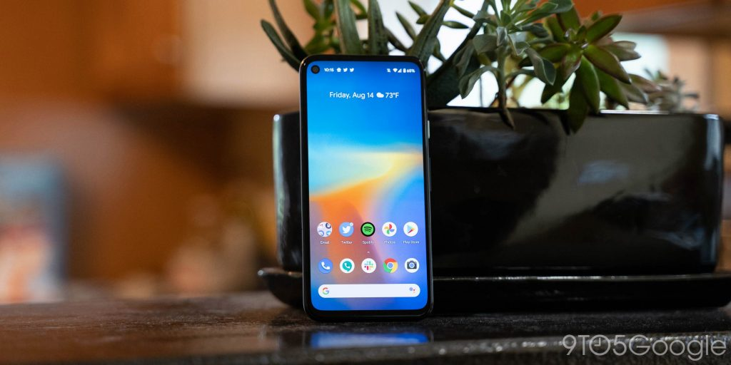Pixel 4a October update fixes automatic brightness and touch screen