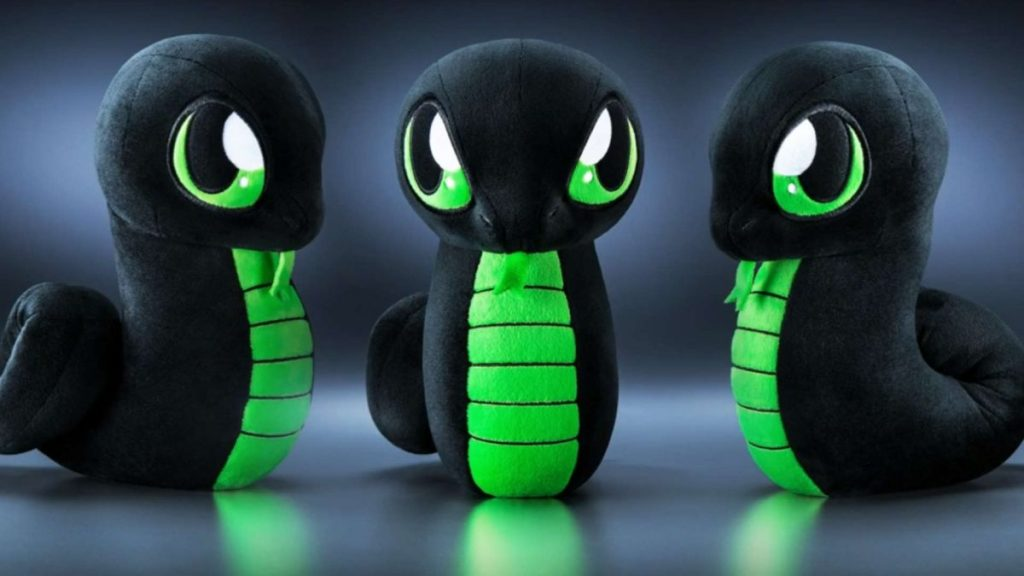 Razer's new Sneki Snek plush toy does not come with an RGB LED because it is an environmentalist.
