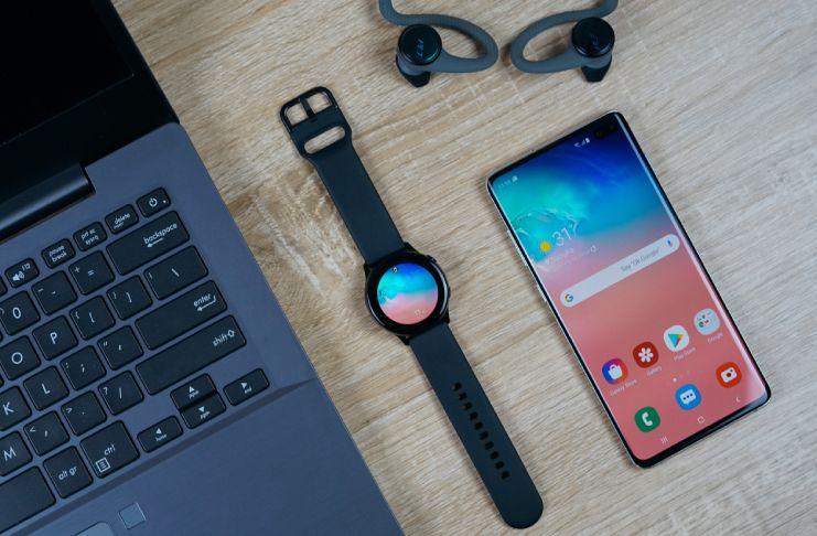 Samsung Galaxy Smartwatch Allows Spotify Download