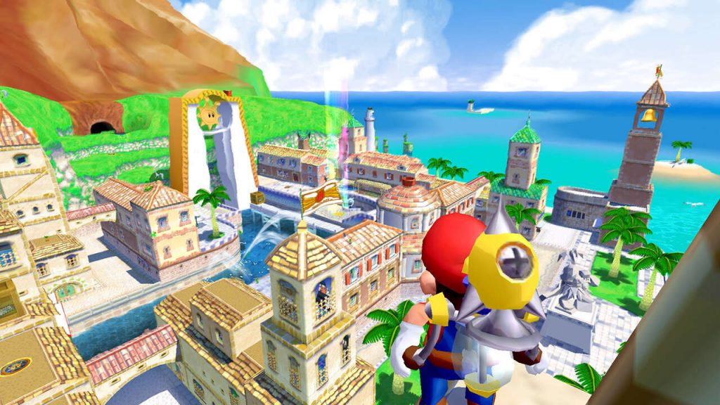 Super Mario Sunshine fans recreate Delfino Plaza with Tony Hawk's professional skater