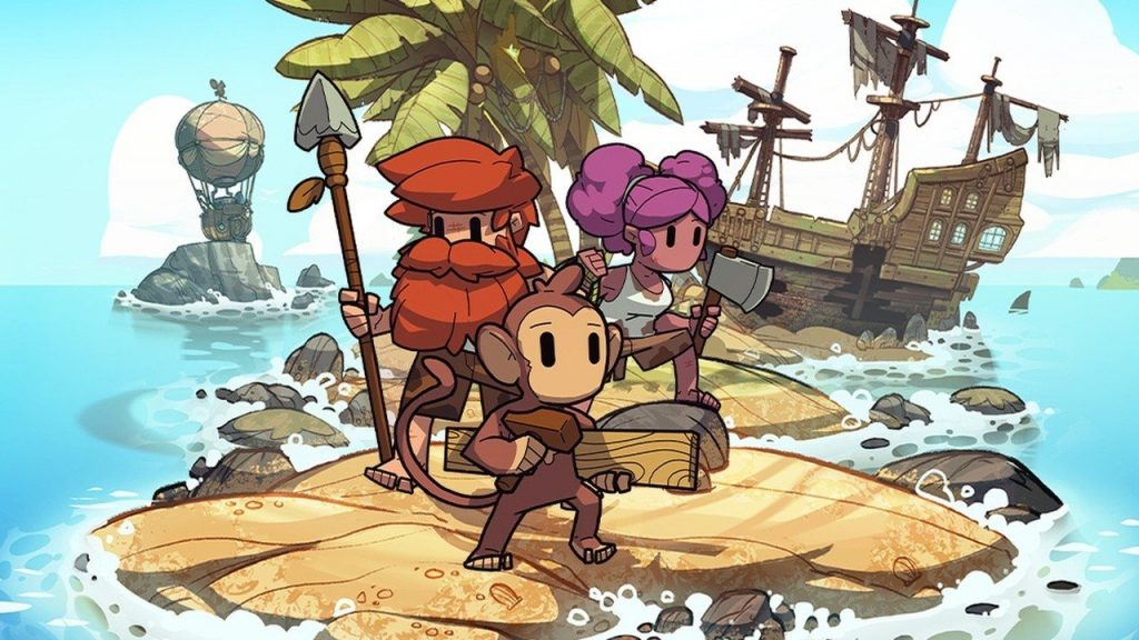 Survivalists, a follow-up to Team17's The Escapists, released today on Switch