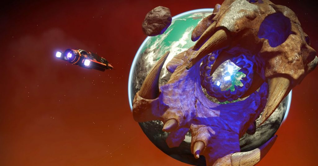 The Man's Sky's Origins update does not create a trippy, buggy world.