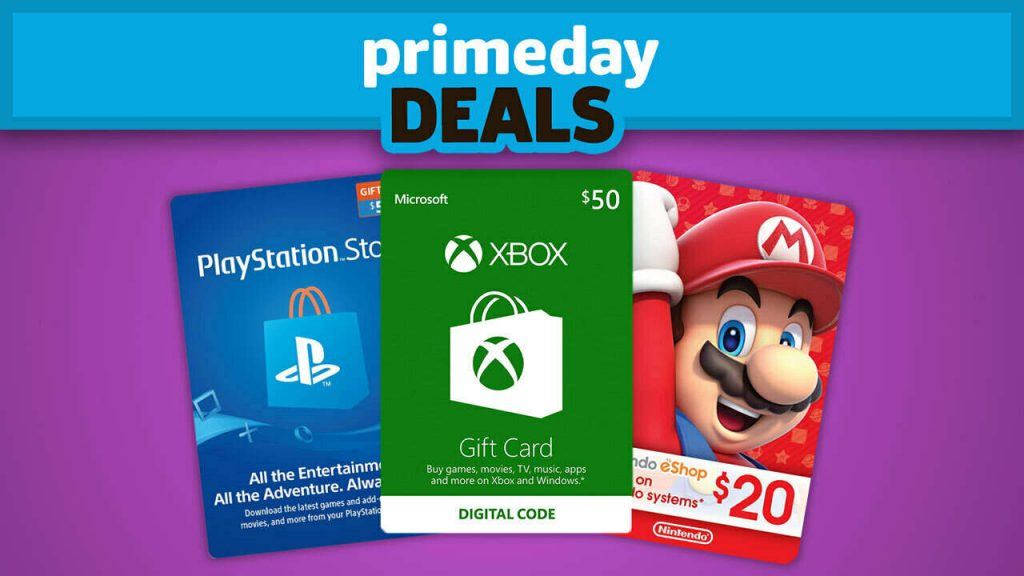 This could be the best deal on Prime Day for Switch, Xbox, and PS4 games, but requires an Amazon credit card