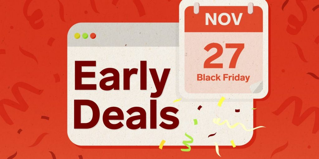 Early Black Friday Discounts: Amazon, Best Buy, Home Depot, etc.