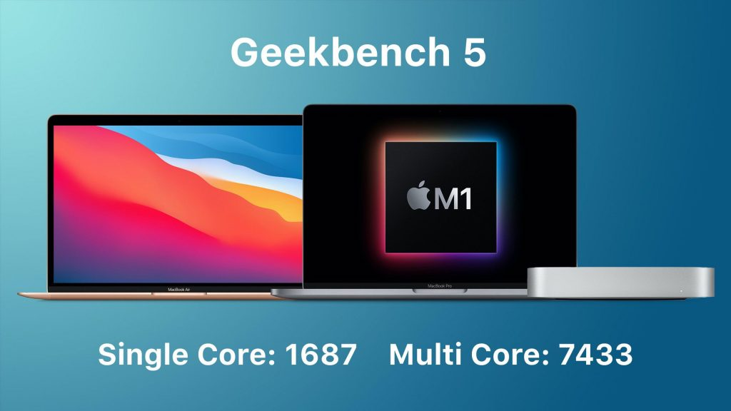 MacBook Air's Apple Silicon M1 chip is better than the high-end 16-inch MacBook Pro