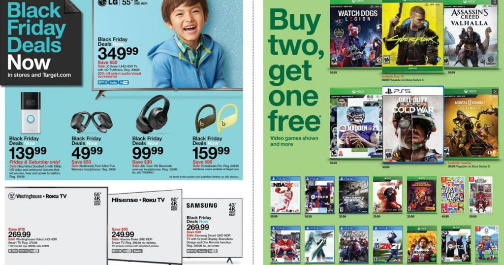 Target Black Friday ad scans for 2020: $ 50 off Apple Watch and more