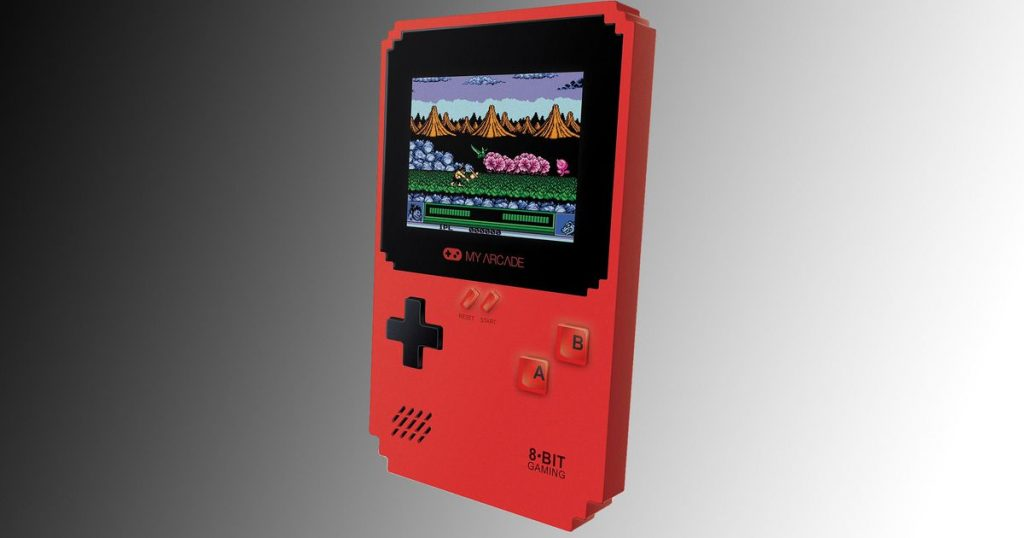 My Arcade Pixel Classic Handheld can now play 300 games for just $ 20