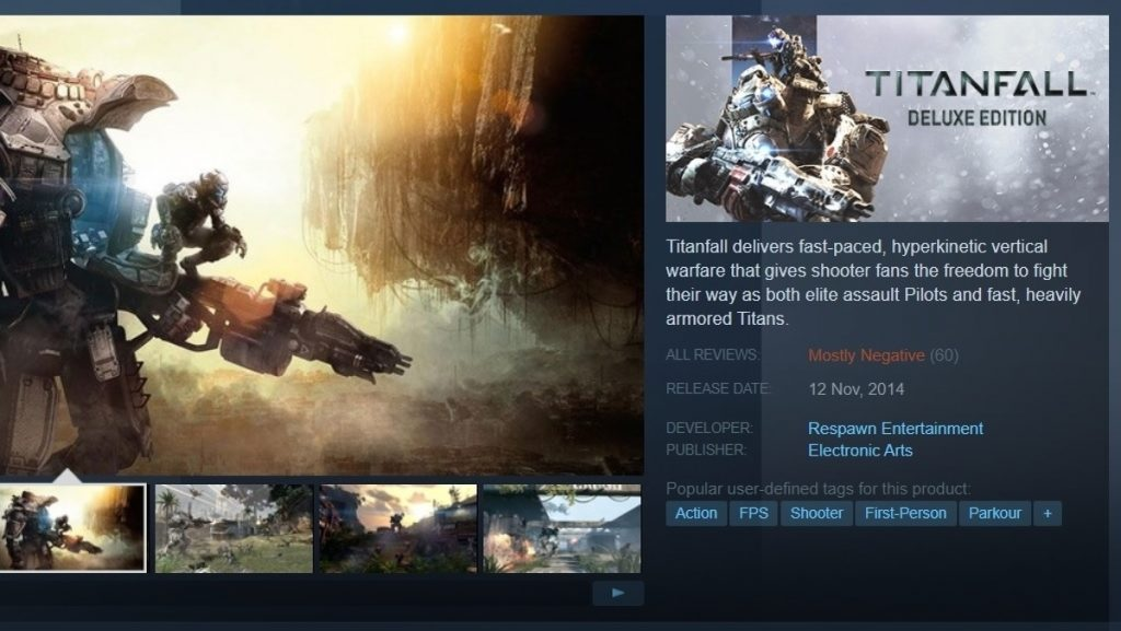 Titanfall Surprise Launches on Steam