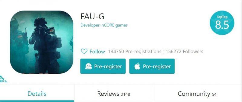 Unconfirmed TapTap page has over 134k pre-registration