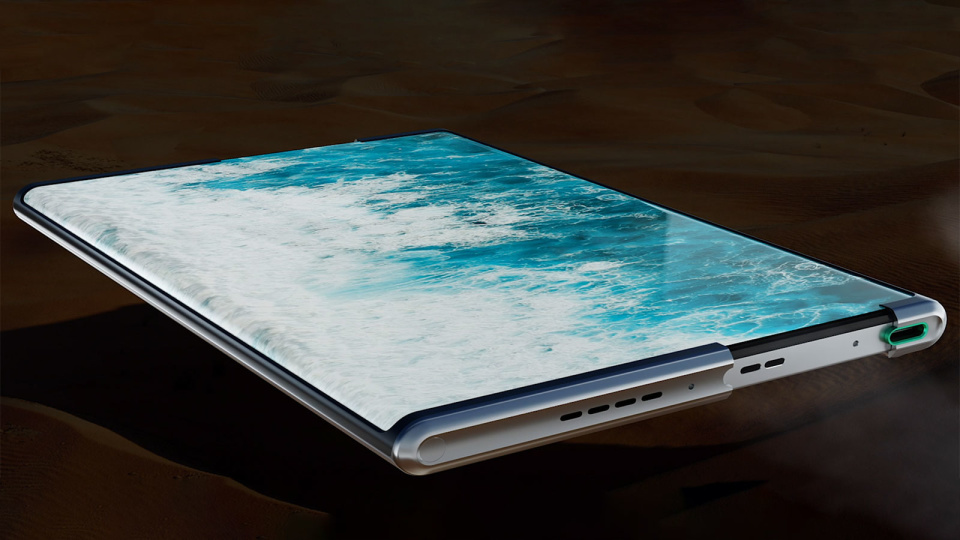 Forget Folding — Oppo's latest concept phone is rollable