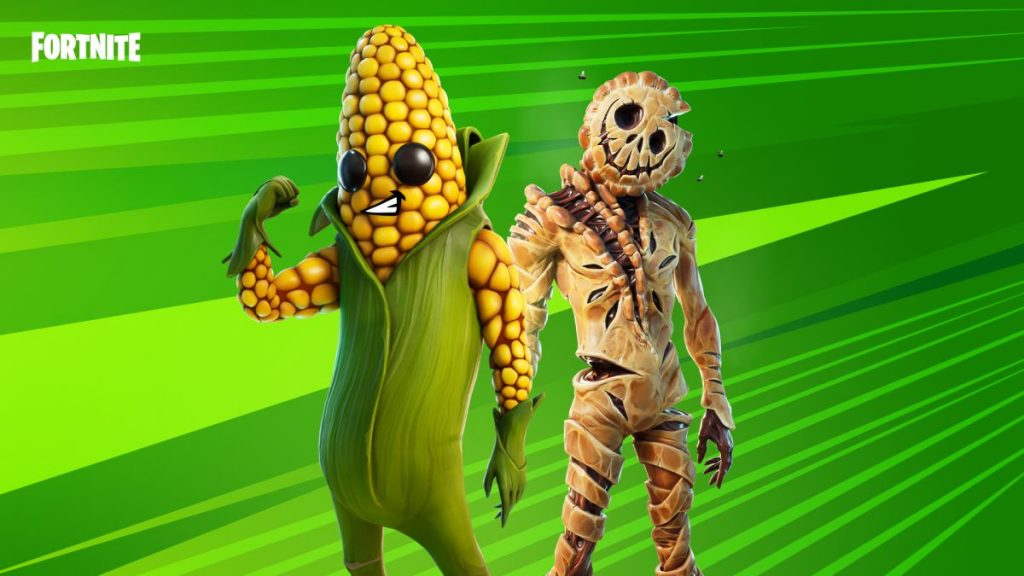 Fortnite now has a terrifying corn and pie body