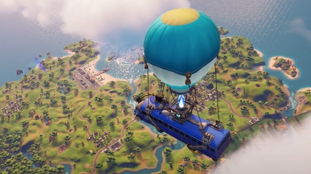 "Fortnite's next-generation update adds ""Dynamic Visuals and Physics"" to support activity on PS5 • Eurogamer.net"