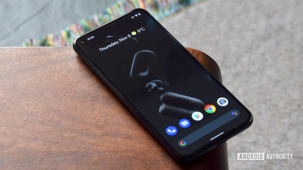 Google Pixel 5 Front