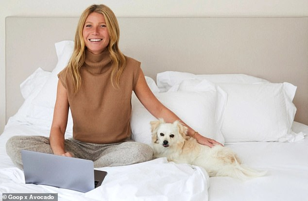 Gwyneth Paltrow, 48, who turned from an actress to a health guru, has partnered with Los Angeles-based bespoke bed maker Avocado for £ 45,000 in handmade beds made from environmentally friendly and sustainable ingredients. It sells for ($ 58,252).