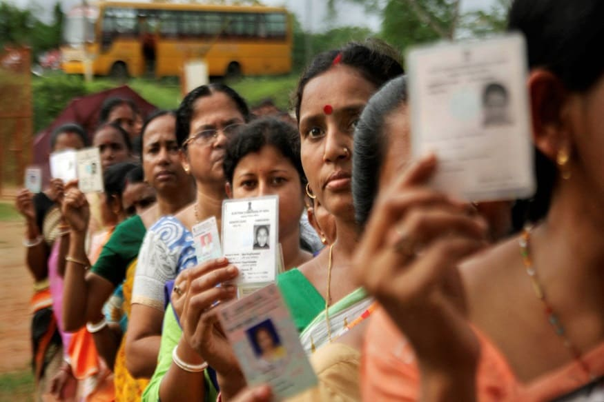 How to download a colored voter ID card